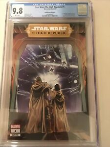 STAR WARS THE HIGH REPUBLIC #1 -CGC 9.8 LIMITED TO #600 Villanelli Variant