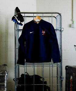 Player Issue Portugal M Training Sweater LS Jersey NIKE Fit Storm Match Worn