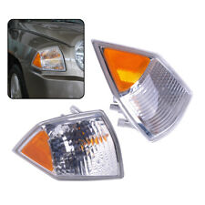 Decor Front Fit for Jeep Compass 2007-2010 L+R Side Turn Signal Parking Light