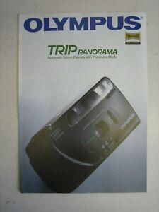 OLYMPUS TRIP PANORAMA CAMERA BROCHURE LEAFLET CATALOGUE MEMORABILIA MARKETING