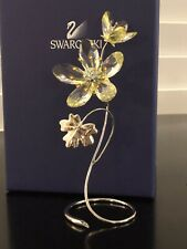 New ListingSwarovski Crystal Figurine Deoria Paradise Flower. Retired In Original Box
