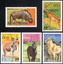 Sahara 1994 Antelope/Gazelle/Sheep/Deer/Animals/Nature/Wildlife 5v set (b8292)