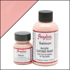 New Angelus Brand Acrylic Leather Paint for Shoes / Sneakers - Salmon Pink - 1oz