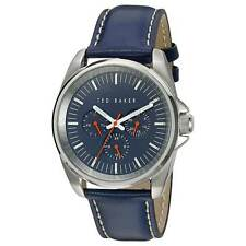 Ted Baker 10025259 Men's Quartz Blue Dial Blue Leather Band Watch