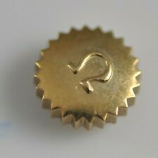 Vintage Omega Crown 6.1mm Yellow Gold Plated tap 7 30T2 260 280