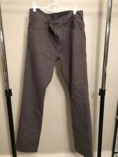 Hurley 84 Slim Nike Dri Fit Tech Pants Mens Size 32 Gray