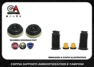Coppia supporti ammortizzatore + Kit Tamponi Fiat Grande Punto Opel Corsa D