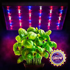 20 Watt LED Grow Lights Hydroponics Tri Band Panel Red White Blue Flowering