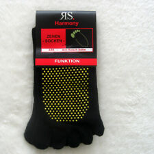 2 Paar Zehensocken einzelne Zehen mit ABS Sohle Yoga  Funktionssocken 36 bis 46