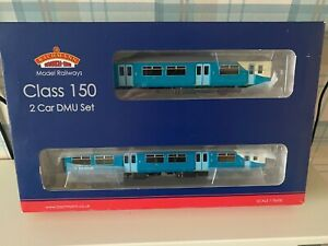 bachmann class 150/2 dmu 2 car arriva trains wales 21 pin dcc unused boxed oo