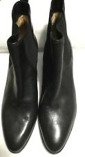 NEW Via Spiga Black Leather Ankle Boots Women's Sz 10 M $295
