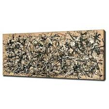 JACKSON POLLOCK AUTUMN RHYTHM CANVAS PICTURE PRINT WALL ART FREE FAST DELIVERY