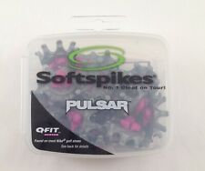 19 Softspikes Pulsar Q-Fit Replacement Cleats New Gray/Purple