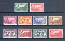 More details for montserrat sg 101-10 1938 original perf 13 set to 5/-  m/m