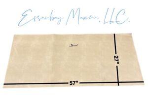 "Marine Grade Padded Vinyl Brisa Heritage with Black Scout Logo 57"" x 27"""