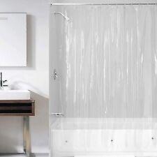 "New ListingVinyl Shower Curtains Shower Curtain Liner 72""x72"" Peva Vinyl Waterproof Clear"