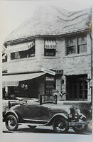 """12 By 18"""" Black & White Picture 1928 1929 Ford Cabriolet"""
