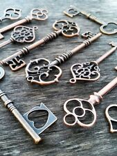 Skeleton Keys Mixed Assorted 62-82mm Rustic Steampunk Wedding Bulk 50pcs Lot