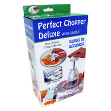 New AS SEEN ON TV PERFECT FOOD CHOPPER DELUXE