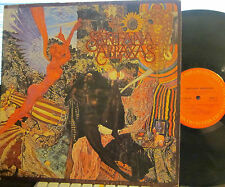 "► Santana - Abracas  (Columbia 30130) (with ""Black Magic Woman"") (with Poster!)"