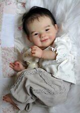 Alla's Babies Reborn Doll Asian Baby Girl Prototype Yuki, Jannie de Lange IIORA