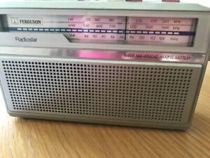 """""""VINTAGE"""" RADIO- FERGUSON RADIOSTAR"""