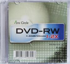 10 piezas acrocircle 8cm MINI DVD-RW espacios en blanco 1,4gb TOP