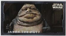 STAR WARS TOPPS EPISODE 1 SERIES 2 WIDEVISION RETAIL EMBOSSED FOIL E3 JABBA HUTT