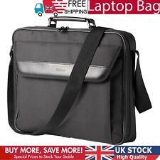 Laptop Messenger Bag Shoulder Briefcase Men Women Travel Work Black Executive