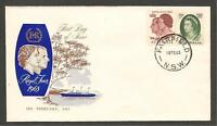 Australia 1963 Royal Visit FDC Unaddressed