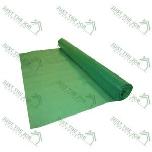 Green Vapour Check Barrier ~ 125mu ~ 2.45 or 4m wide ~ Polyethylene Moisture Air