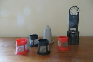 Keurig Accessories Water Filter Holder, K Cup Adapter and Filter and Cups (4)
