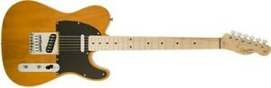 Squier Affinity Series Telecaster Electric Guitar (Butterscotch Blonde, Maple