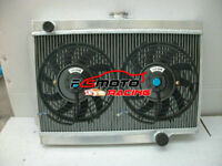 3 row Aluminum Radiator + FAN For Holden E Series EJ EH 179 2.9L L6 MT 1962-1965