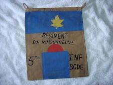 WWII CANADIAN 2ND DIVISION REG DE MAISONNEUVE  DIEPPE RAID CP PENNET FLAG