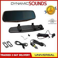"DVR Car Camera & Rear View Mirror 4.3"" Monitor with Reverse Parking Cam"