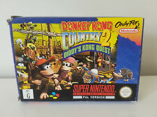 Donkey Kong Country 2- Super Nintendo PAL - Boxed & Complete- SNES N2