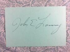 John Lansing - More American Graffiti - Sunnyside - Autographed 1979