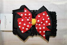 NEW MINNIE MOUSE HAIR ACCESSORIES BOW HEADBAND