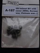 Tank, A-187, casque US M1 avec HOUSSE, 1:35