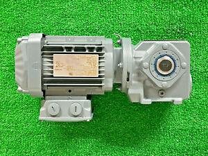 Sew Eurodrive SA37-DRN71M4 Gear Motor, Helical-Worm, SA37DRN7144