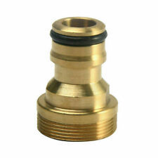 "FITTING 3/4"" to 1/2"" INCH BRASS GARDEN FAUCET HOSE TAP WATER ADAPTOR CONNECTOR"