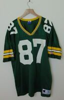 Vintage 90s Champion Men 44 Green Bay Packers Robert Brooks Football Jersey NFL