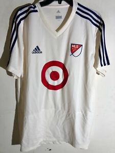 Adidas MLS All Star Atlanta 2018 Team Jersey White sz L
