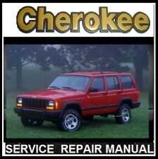 JEEP CHEROKEE XJ 1994-95-96-97-98-99-2000-2001 MASTER SERVICE REPAIR MANUAL CD