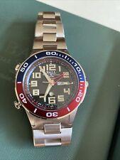 BALL Roadmaster Vanguard Limited Edition Watch. Automatic GMT Pepsi Bezel