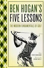 Ben Hogan's Five Lessons: The Modern Fundamentals of Golf-Ben Hogan