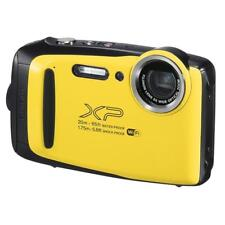Fuji Fujifilm Finepix XP-130 20M Underwater Camera Black / Yellow UK Stock BNIB