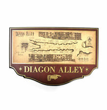 Harry Potter DIAGON ALLEY Wall Plaque sign from The Noble Collection NOB7058