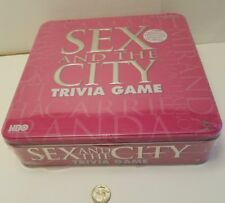 New Trivia Game Sex In The City In Tin Box Ages 18+ Cardinal Games HBOs